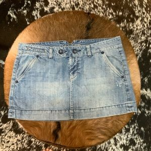 American Eagle mini Jean Skirt EUC